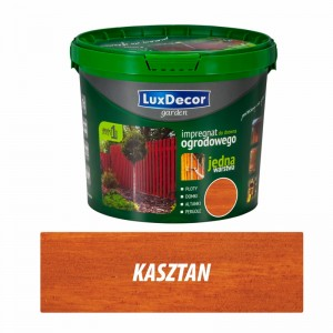 Luxdecor GARDEN WOOD IMPREGNATOR - 5l color: kasztan