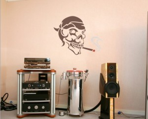 "Decorating Stencil - XXL ""Skull"" nr 65"