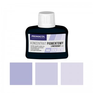 PIGMENT CONCENTRATE for paints Primacol lawendowy (nr 12) 80ml