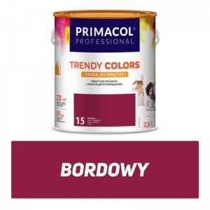 Paint Trendy Colors bordowa 2,5 l