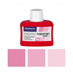 PIGMENT CONCENTRATE for paints Primacol różowy (nr 11) 80ml