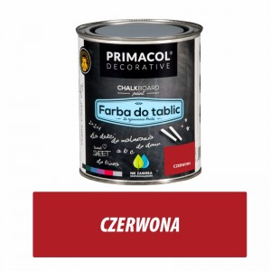Blackboard Paint RED 0,75 l