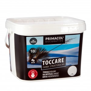 Structural paint Toccare WHITE 10 l