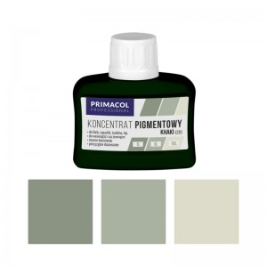 PIGMENT CONCENTRATE for paints Primacol khaki (nr 20) 80ml
