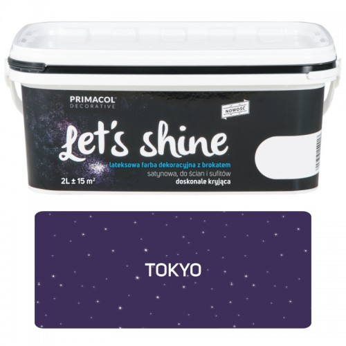 Lets Shine Farba Dekoracyjna Z Brokatem Tokyo 2l Wyprzedaż