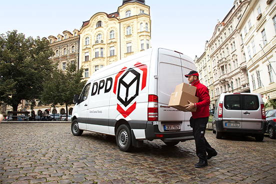 We ship to all countries in the European Union with DPD