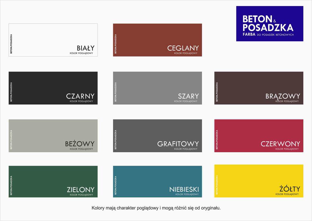 Bardzo dobry Beton i Posadzka - farba do betonu / linii - 5l brąz Sklepdecor VL67